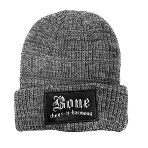 "Bone Thugs-N-Harmony Classic ""Grey Metallic"" Beanie"