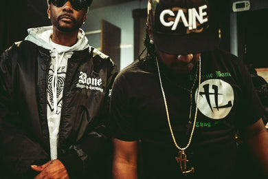 Krayzie Bone and Caine