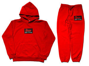 "Bone Thugs-N-Harmony Embroidered ""Red"" Premium Cotton Terry Sweatsuit"