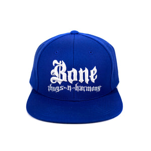 "Bone Thugs-N-Harmony Classic ""Royal Blue"" Snapback"