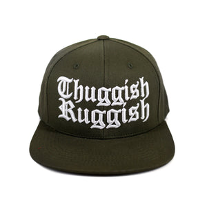 "Thuggish Ruggish ""Olive Green"" Snapback"