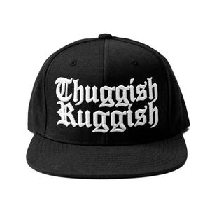 "Thuggish Ruggish ""Black"" Snapback"