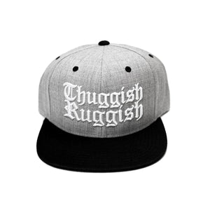 "Thuggish Ruggish ""Light Grey/Black"" Snapback"