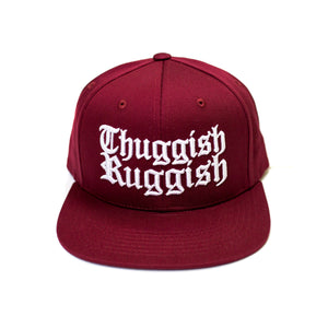 "Thuggish Ruggish ""Burgundy"" Snapback"