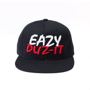 "Eazy Duz IT ""Black"" Snapback"