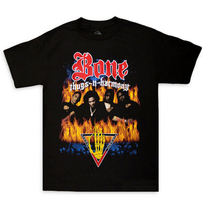 "Bone Thugs-N-Harmony Look Into My Eyes Tee ""Black"""