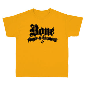 "KIDS Bone Thugs-N-Harmony Black Logo ""Gold"" Tee"