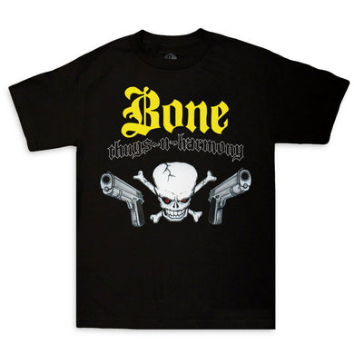 Bone Thugs-N-Harmony Skull N Guns Tee