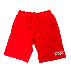 "Thuggish Ruggish Small Logo ""Red"" Shorts"