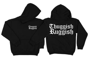 "Thuggish Ruggish ""Pink with Red Logo"" Hoodie"
