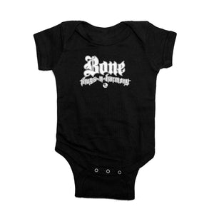 "Bone Thugs-N-Harmony ""Black"" Onesie"