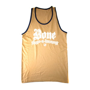 "Bone Thugs-N-Harmony ""Gold/Blue Trim"" Tank Top"