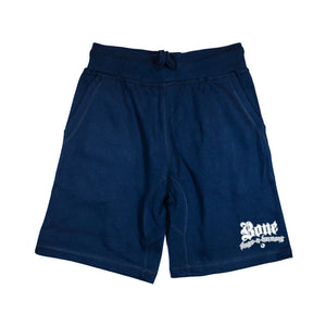 "Bone Thugs-N-Harmony Small Logo ""Navy"" Shorts"