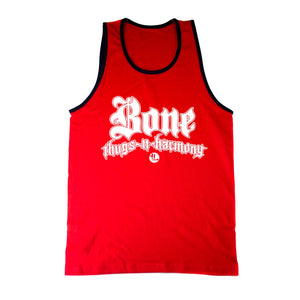 "Bone Thugs-N-Harmony ""Red/Navy Trim"" Tank Top"