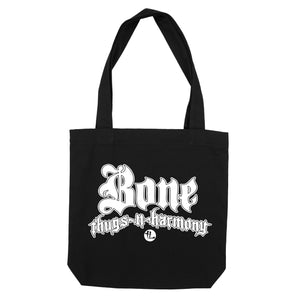 "Bone Thugs-N-Harmony White Logo ""Black"" Tote Bag"