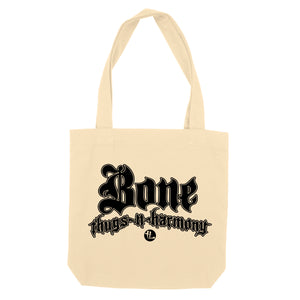"Bone Thugs-N-Harmony Black Logo ""Beige"" Tote Bag"
