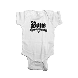 "Bone Thugs-N-Harmony ""White"" Onesie"