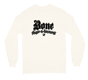 "Bone Thugs-N-Harmony Black Logo ""Cream"" Long Sleeve"