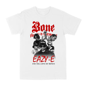 "Bone Thugs-N-Harmony Foe Tha Love Of Money Tee ""White"""