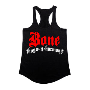 "Bone Thugs-N-Harmony Greatest Hits ""Black"" Racerback"