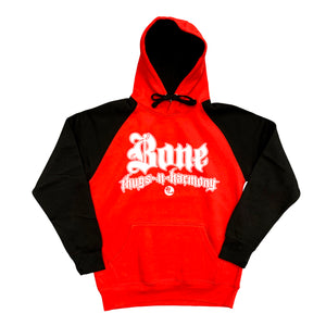"Bone Thugs-N-Harmony ""White Logo"" Black/Red Hoodie"