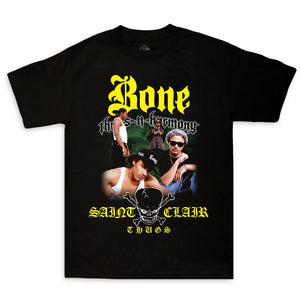 "ST Claire Thugs Tee ""Black"""