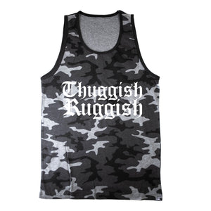"Thuggish Ruggish ""Grey Camo"" Tank Top"