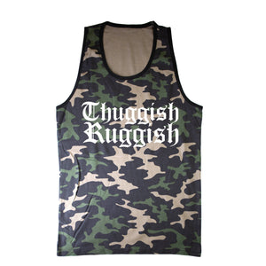 "Thuggish Ruggish ""Regular Camo"" Tank Top"