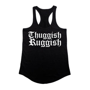 "Thuggish Ruggish ""Black"" Racerback"