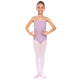 [US ONLY] Girls Straps Back Solid Ballet Dance Bodysuit Camisole Leotard