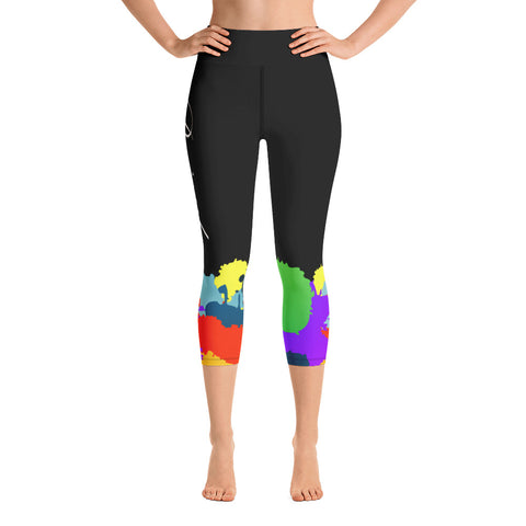 Self Care High Waist Capri Leggings