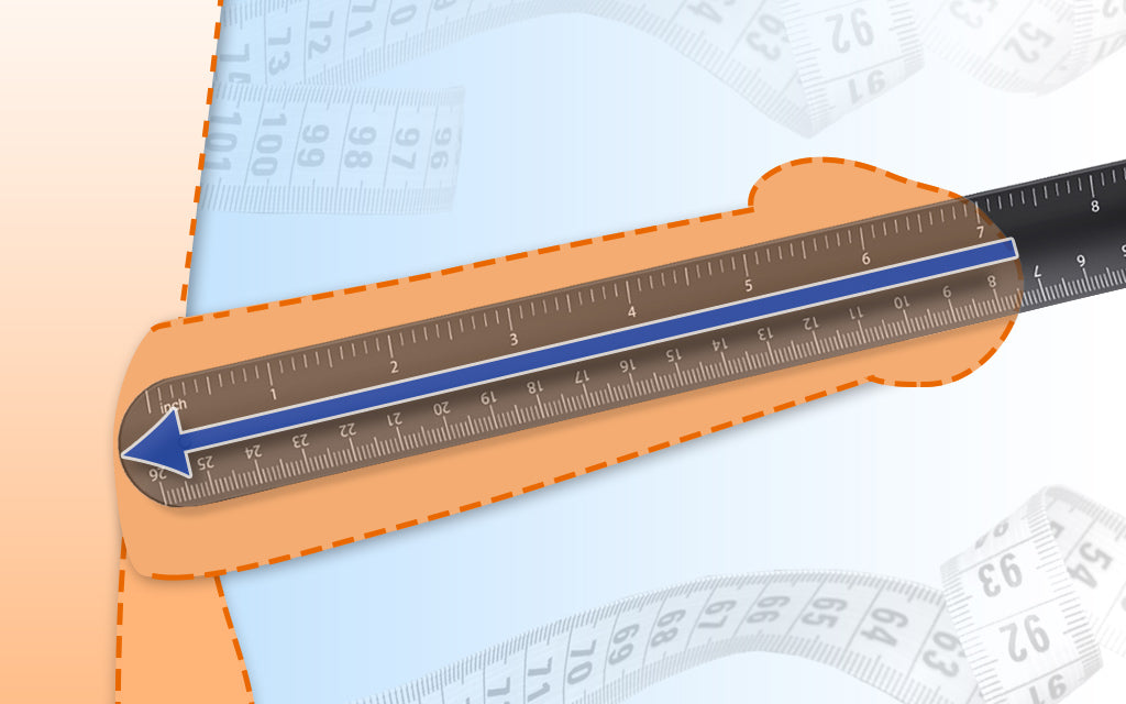 How to measure your penis length correctly
