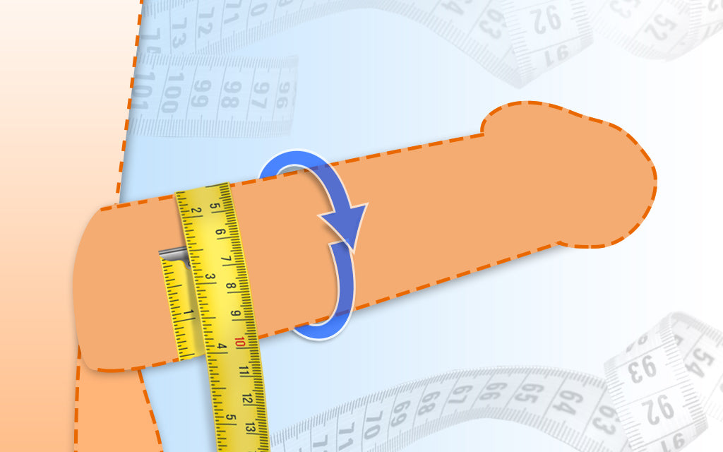 how to measure the girth of your penis