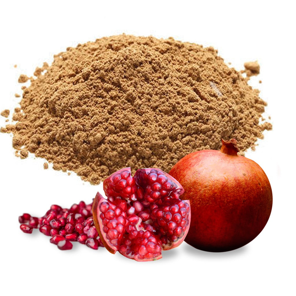 The ingredients of pomegranate extract