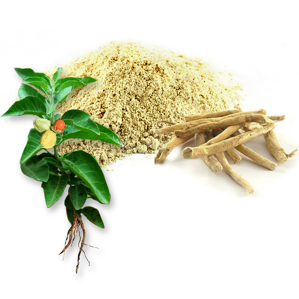 The ingredients of ashwaganda