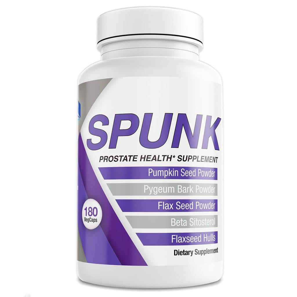 SPUNK Natural Prostate Health Supplement