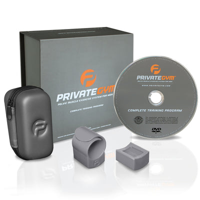 Private Gym Complete Training box contents gray