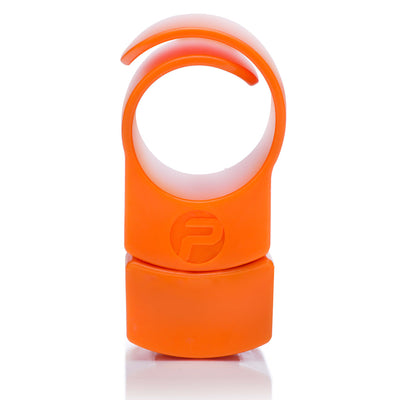 Private Gym resistance ring with extra weight orange front view