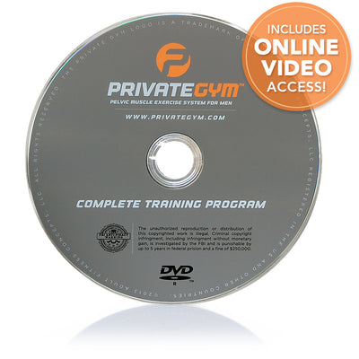 Private Gym Complete Training Program DVD