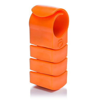 Private Gym Complete Training resistance ring with three extra weights orange