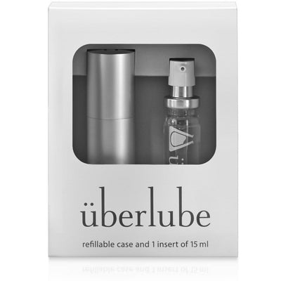 Uberlube Silicone-Based Travel-Sized Lubricant Silver
