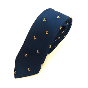 Corbata estampado patitos