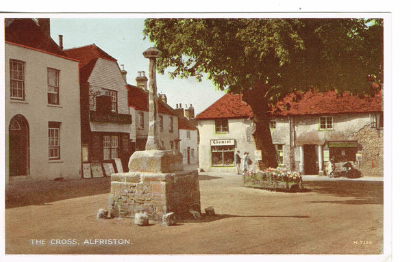 Alfriston the Cross 1950's Publisher Valentines