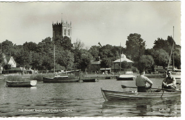 Christchurch Priory and Quay RP Thunder and Clayden