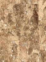 Cork Wallpaper Natural (Brown-Silver) C1