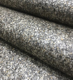 Mica High Gloss Pebble Wallpaper - Anthracite (Silver/Gold Pebble) - ML59