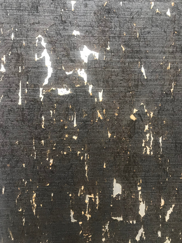 Cork Wallpaper (Ebony) - C14