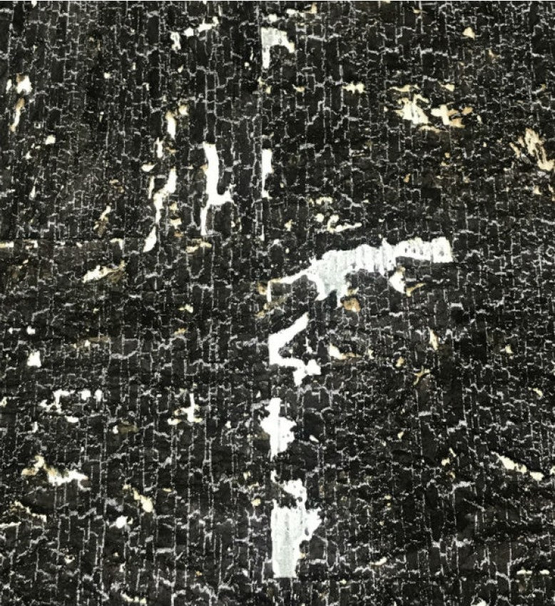 Cork Wallpaper (Black Coral) - C5