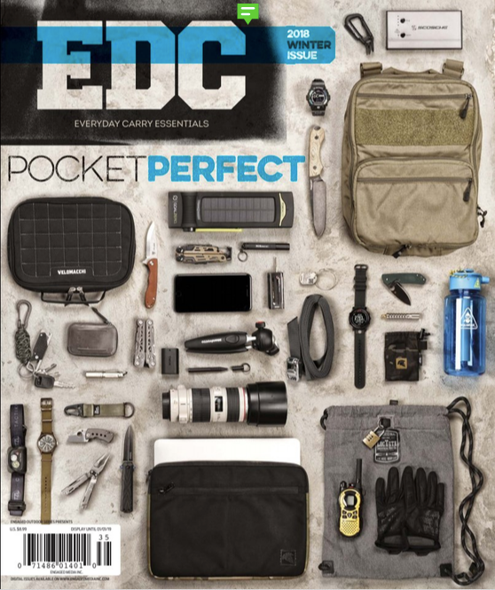Featured In EDC Buyers Guide 2018