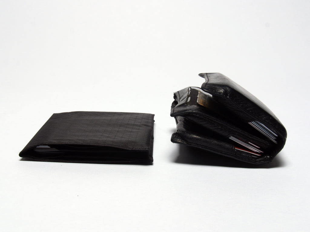Sim wallet vs old bulky wallet